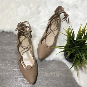 Nine West Lace Up Flat Shoes